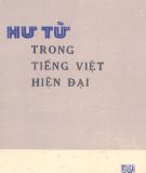 Ngôn ngữ học - Hư từ trong tiếng Việt hiện đại: Phần 1
