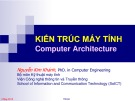 Bài giảng Kiến trúc máy tính - Chương 1: Giới thiệu chung - Nguyễn Kim Khánh
