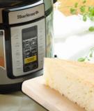 2 cách làm bánh bông lan nướng bằng nồi cơm điện không cần lò nướng vi sóng