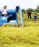 Đề tài: Khai thác kết cấu nguyên lý hoạt động của các loại máy nông nghiệp