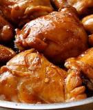 Cách làm món gà kho gừng và gà kho me