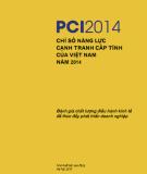 Ebook PCI 2014 Chỉ số Năng lực cạnh tranh cấp tỉnh của Việt Nam năm 2014 - NXB Lao động