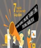 7 thay đổi rất cần thiết giúp bạn bán hàng online thành công trong năm 2014