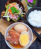 Cách làm món thịt kho tàu truyền thống