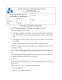 Đề thi viết giữa học kì 1 năm học 2012-2013 và đáp án môn Cơ sở thiết kế trang phục - ĐHBK TP.HCM