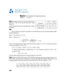 Đề thi và đáp án môn Kỹ thuật đo lường trong dệt may năm học 2012-2013 - ĐHBK TP.HCM