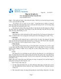 Đề thi và đáp án thi giữa kì năm học 2012-2013 môn Kỹ thuật đo lường trong dệt may - ĐHBK TP.HCM