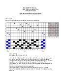 Đề thi giữa kì và đáp án môn Cấu trúc vải dệt thoi - ĐHBK TP.HCM