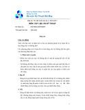 Đề thi và đáp án môn Vật liệu vải kĩ thuật - ĐHBK TP.HCM