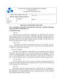 Đề thi viết và đáp án cuối học kì 2 năm học 2012-2013 môn Kỹ thuật dệt may - ĐHBK TP.HCM