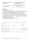 Đề thi chọn học sinh giỏi cấp tỉnh năm học 2013-2014 môn Tiếng Anh lớp 9 - THCS (Bảng A) - SGDĐT Khánh Hòa