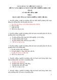 Ngân hàng câu hỏi thi và đáp án bổ túc nâng hạng GCNKNCM thuyền trưởng hạng nhì môn thi Lý thuyết tổng hợp