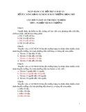 Ngân hàng câu hỏi thi và đáp án bổ túc nâng hạng GCNKNCM máy trưởng hạng nhì môn Nghiệp vụ máy trưởng