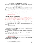 Ngân hàng câu hỏi kiểm tra và đáp án bồi dưỡng cấp chứng chỉ người lái phương tiện hạng nhì 9
