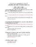 Ngân hàng câu hỏi kiểm tra và đáp án bồi dưỡng cấp chứng chỉ thợ máy hạng nhì 8