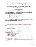 Ngân hàng câu hỏi thi và đáp án bổ túc nâng hạng GCNKNCM thuyền trưởng hạng ba