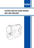 Hướng dẫn sử dụng nhanh máy may BM - 2600