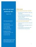 Báo cáo cập nhật ngành dệt may (tháng 10 - 2014)