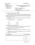 Đề thi Chọn học sinh giỏi lớp 12 vòng Tỉnh năm 2011 - 2012 môn Tin học Bảng A (Ngày 5/11/2011) - Sở Giáo dục Đào tạo Bạc Liêu