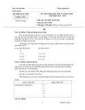 Đề thi Chọn học sinh giỏi lớp 12 vòng Tỉnh năm 2011 - 2012 môn Tin học Bảng B (Ngày 5/11/2011) - Sở Giáo dục Đào tạo Bạc Liêu