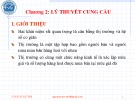 Bài giảng Kinh tế học vi mô: Chương 2 - Nguyễn Văn Vũ An
