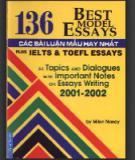 Ebook 136 Best Model Essays - Các bài luận mẫu hay nhất: Phần 2 - MilonNandy