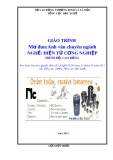 Giáo trình Anh văn chuyên ngành - Nghề: Điện tử công nghiệp - Trình độ: Cao đẳng (Tổng cục Dạy nghề)