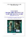 Giáo trình Điện tử nâng cao - Nghề: Điện tử công nghiệp - Trình độ: Trung cấp (Tổng cục Dạy nghề)
