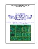 Giáo trình Kỹ thuật xung – số - Nghề: Điện tử công nghiệp - Trình độ: Trung cấp (Tổng cục Dạy nghề)