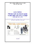 Giáo trình Anh văn chuyên ngành - Nghề: Điện tử công nghiệp - Trình độ: Trung cấp (Tổng cục Dạy nghề)