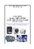 Giáo trình Điện cơ bản - Nghề: Điện tử công nghiệp - Trình độ: Cao đẳng (Tổng cục Dạy nghề)