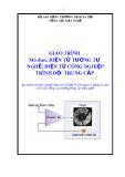 Giáo trình Điện tử tương tự - Nghề: Điện tử công nghiệp - Trình độ: Trung cấp (Tổng cục Dạy nghề)