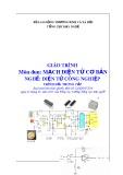 Giáo trình Mạch điện tử cơ bản - Nghề: Điện tử công nghiệp - Trình độ: Trung cấp (Tổng cục Dạy nghề)