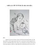 Những bài viết tả về mẹ của học sinh lớp 6