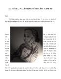 Bài viết hay và cảm động về hình ảnh người mẹ