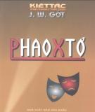 Ebook Kiệt tác sân khấu thế giới Phaoxtơ: Phần 2 - J.W.Gớt