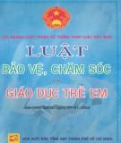 Luật bảo vệ, chăm sóc và giáo dục trẻ em - Các ngành luật trong hệ thống pháp luật Việt Nam: Phần 1