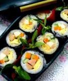 5 bước làm sushi cực ngon chỉ 30 phút