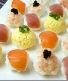 2 công thức làm sushi cá hồi tại nhà đơn giản mà ngon