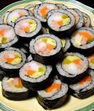 Cách làm sushi ngon và đơn giản cho cả nhà