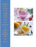 Hướng dẫn cách làm 7 loại kem tươi với các hương vị khác nhau không thể bỏ qua