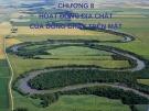 Bài giảng Địa chất đại cương: Chương 8 - Hoạt động địa chất của dòng chảy trên mặt