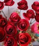 Cách làm hoa giấy handmade dễ nhất