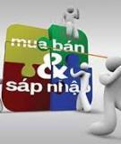 Quan hệ mua bán doanh nghiệp ở Việt Nam - Nhận diện dưới góc độ pháp lí - ThS. Trần Thị Bảo Ánh
