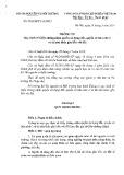 Thông tư số: 23/2014/TT-BTNMT năm 2014