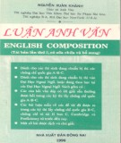 luận anh văn (english composition): phần 1 - gs. nguyễn xuân khánh