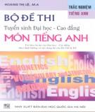 Sưu tầm bộ đề thi tuyển sinh đại học - cao đẳng môn Tiếng Anh: Phần 1