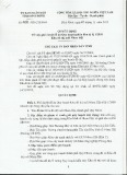 Quyết định số: 2659/QĐ-CTUBND