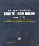 Ebook Từ điển giải nghĩa kinh tế - kinh doanh Anh - Việt: Phần 2 - NXB Khoa học và Kỹ thuật