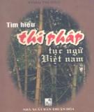 Ebook Tìm hiểu thi pháp tục ngữ Việt Nam: Phần 2 – Phan Thị Đào